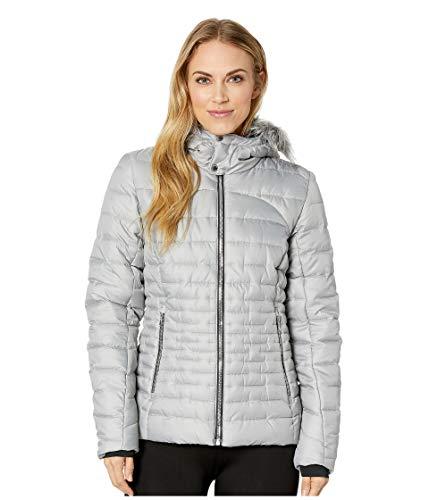 Spyder Women's Edyn Insulated Waterproof Down Winter Jacket with Faux Fur Hood ()