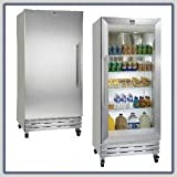 Kelvinator Reach In Refrigerator : Kelvinator Reach In KRS221LHY::(Left-Hand Door Swing)