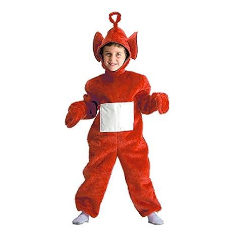 Costume enfant Teletubbies Po - 4/5 ans - Deguisement - Rouge ...