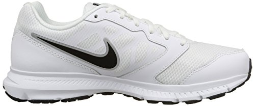 White 6 for Downshifter Metallic Men NIKE Silver White Shoes Black Running qWS0wRnf5