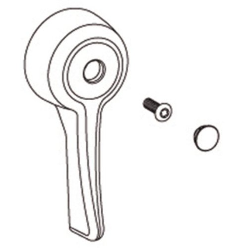 Moen 100079 Commercial 3 Function Transfer Valve Lever Handle (Moen Diverter Valve Escutcheon Bidet)