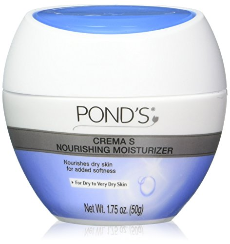 Pond's Crema S Nourishing Moisturizing Cream Travel Size 1.75 oz. Jar (Pack Of 3)