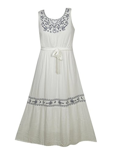 Plus Size White Wonder Maxi Dress --Size: 3x Color: White