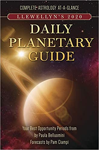 Best Fiction 2020.Llewellyn S 2020 Daily Planetary Guide Complete Astrology