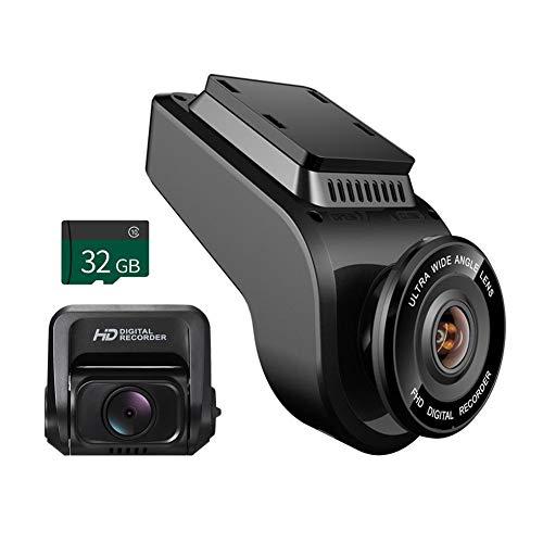 Price comparison product image Youitankai Car DVR T691C Front 4K 2160P+ Rear 1080P FHD Dash Cam Car DVR Camera+32GB TF Card