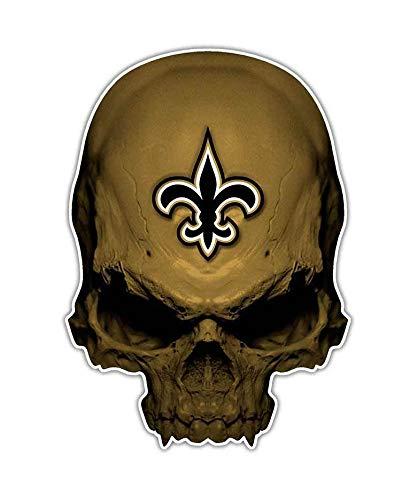 (Edwin Group of Companies 2 Fleur De Lis Skull Wall Art | Size 4
