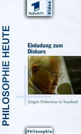 Philosophie Heute Einladung Zum Diskurs Jurgen Habermas In Stanford Vhs Jurgen Habermas Ulrich Boehm Jurgen Habermas Amazon De Vhs