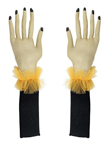 Set of 2 Gathered Traditions Flexible Witch Hand Halloween Decorations - Galleria Central
