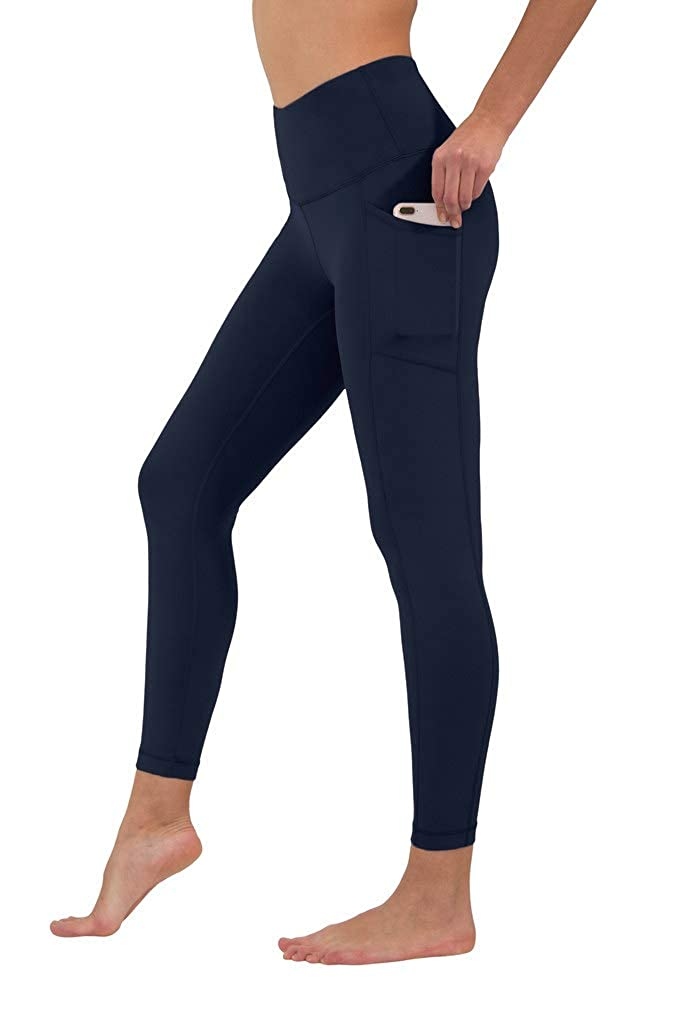 fe5c6f46d4 Yogalicious High Waist Ultra Soft Ankle Length Leggings with Pockets at  Amazon Women's Clothing store: