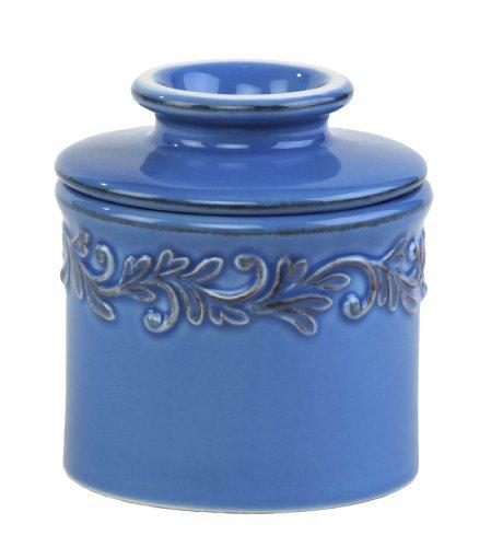 The Original Butter Bell Crock by L. Tremain, Antique Azure Blue by Butter Bell