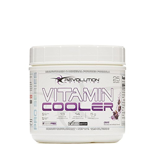 Nutrition Revolution - Revolution Nutrition Vitamin Cooler - Grape