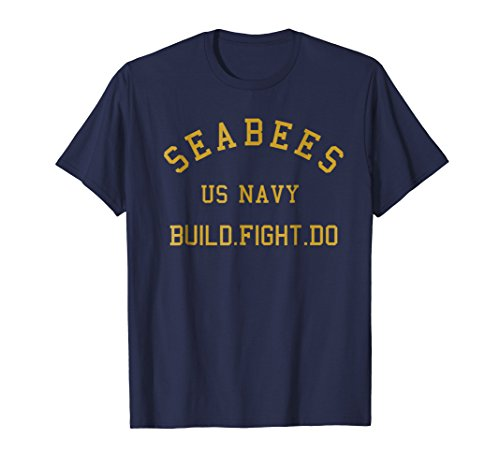 Navy Seabees Shirt US Navy Construction Battalion T Shirt