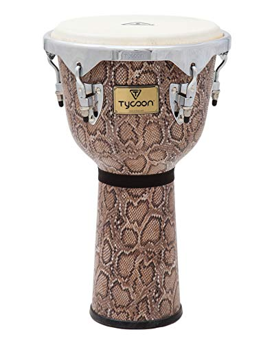 Tycoon Percussion MTJF-712 BCF 12-Inch Master Series Djembe, Boa Finish ()