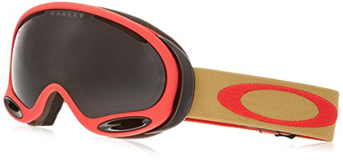 Oakley OO7044-12 A-Frame 2.0 Eyewear, Copper Red, Dark Grey - Oakley Ballistic 2.0 Goggles