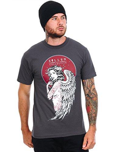 T-Shirt Sullen Lady of Ink Dark Grigio