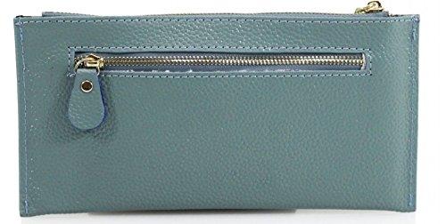 Tassel PLUS Mini Board Pouch Gossip With Clutch Girl Emery Genuine Leather Navy Designer Wallet Purse Set PP1nBqSO