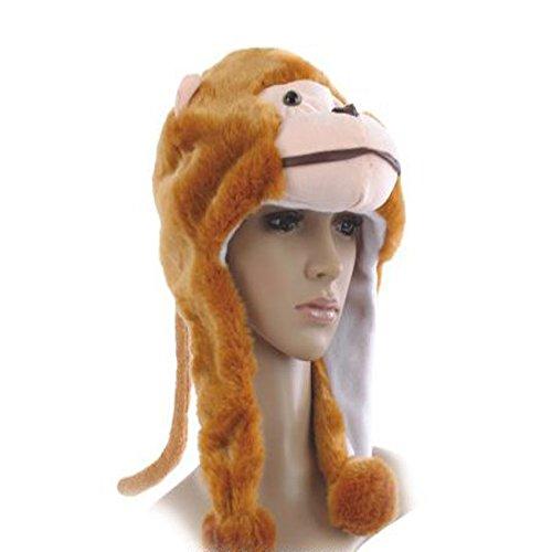 Gorila de de Sombrero animal invierno piel FtxqT