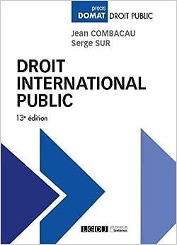 Book's Cover of Droit international public (Français) Broché – 24 décembre 2019