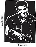 Elvis Presley the King Cut Vinyl Decal Portrait Sticker