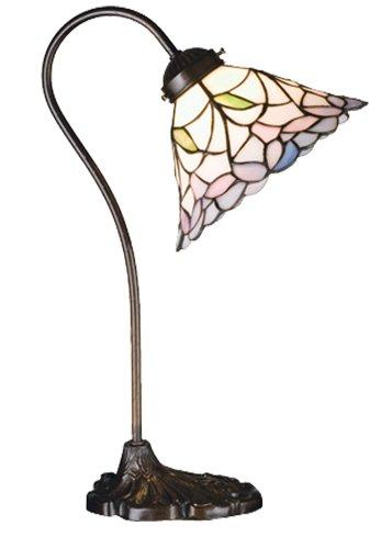 Meyda Tiffany 26590 Daffodil Bell Desk Lamp, 18