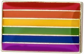 Pin de Solapa Bandera Actual del Orgullo LGTBI: Amazon.es: Ropa y accesorios