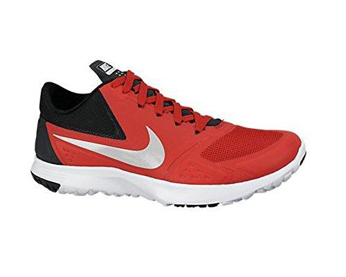 Nike Herren Fs Lite Trainer Ii Turnschuhe Rot / Silber / Schwarz / Weiß (Unvrsty Rd / MTLC Pltnm-Blck-Wht)