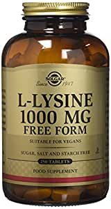 Solgar L-Lysine 1000 mg Tablets  250 Count