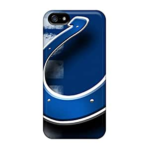 New BAY1034qNxe Indianapolis Colts Tpu Cover Case For Iphone 5/5s