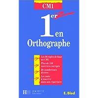1er en orthographe, CM1