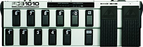 Behringer FCB1010 Ultra-Flexible MIDI Foot Controller with 2 Expression Pedals and MIDI Merge Function