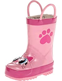 Girls Printed Rain Boot