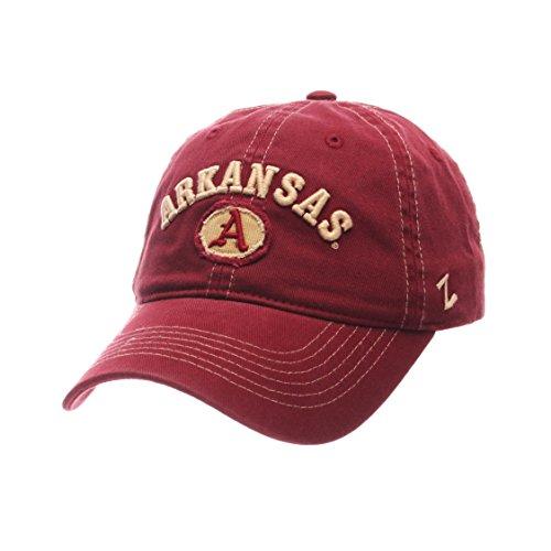 Arkansas Razorbacks Ncaa (NCAA Arkansas Razorbacks Adult Men's Sluffer Relaxed Cap, Adjustable Size, Cardinal)