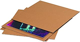 """product image for Partners Brand PSP810 Corrugated Layer Pads, 8 3/8"""" x 10 7/8"""", Kraft (Pack of 100)"""