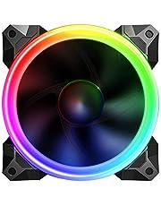 Sahara 12cm Pirate Turbo True RGB Ventilateur. Compatible RGB contrôleur de Ventilateur Seulement. 55Paramètre de Couleurs différentes