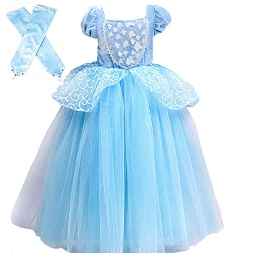 Cinderella Costumes for Girls Princess Dress Up Fancy Halloween Christmas Party - http://coolthings.us