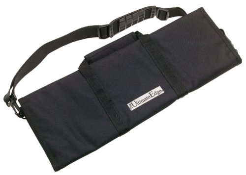 The Ultimate Edge 2001-12BN 12-Piece Knife Roll, Black by The Ultimate Edge