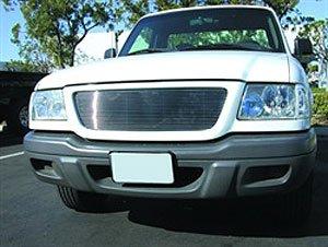 TRex Grilles 20688 Horizontal Aluminum Polished Finish Billet Grille Insert for Ford Ranger 2WD