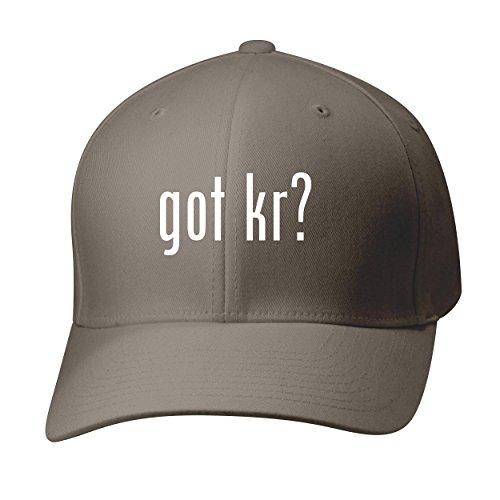 BH Cool Designs Got KR? - Baseball Hat Cap Adult, Dark Grey, Large/X-Large