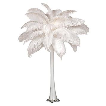 Amazon Ostrich Feather Centerpiece With 24 Eiffel Tower Vase