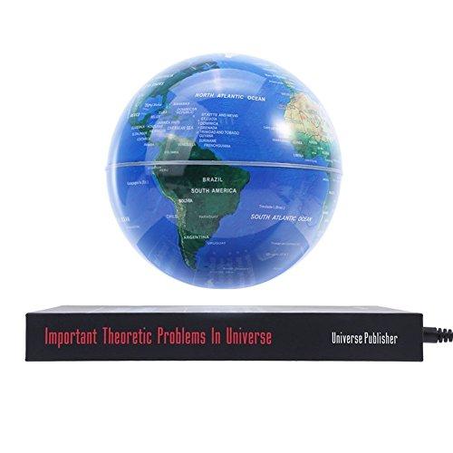 Flotante Mapa Levitación Magnética Globo Luminoso con Asiento Libro Especial Decoración y Regalos para hogar oficina