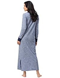 Addison Meadow Long Nightgowns for Women - Camisones de algodón de jersey para mujer, tejido de punto