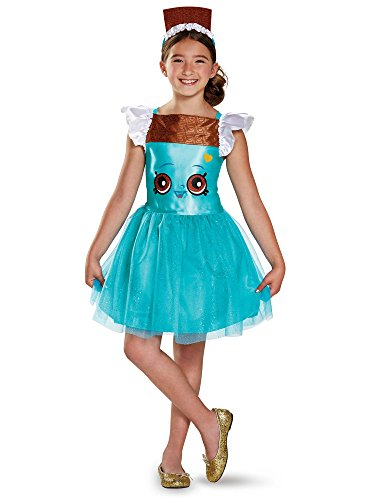 Cheeky Chocolate Classic Shopkins The Licensing Shop Costume, Medium/7-8