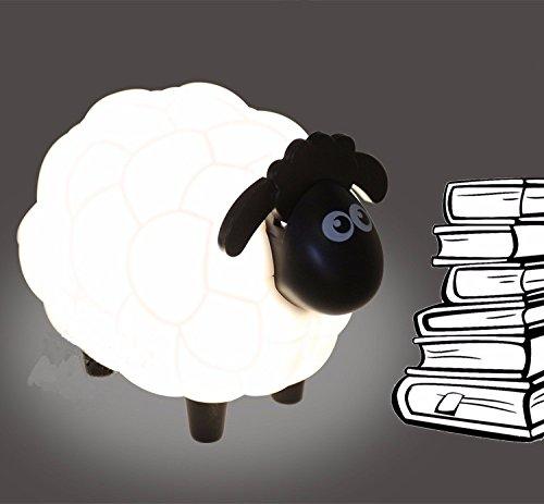 Sheep Led Night Light Protect Eye Plastic 17cm13cm12cm Gifts For Children Dry Battery
