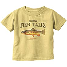 Brisco Brands Fish Tales Golden Trout Fishing Shirt | Gill McFinn Bait Lure Toddler Infant T