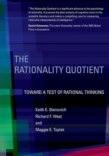 The Rationality Quotient  Toward A Test Of Rational Thinking  Mit Press