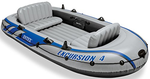 Intex 68324NP Excursion 4-Persoons Boot Set