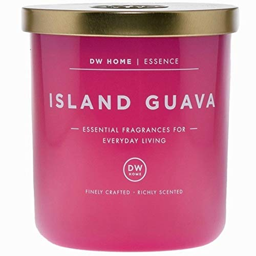 DW Home Island Guava Scented Candle Essential Fragrances for Everyday Living