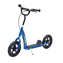 """Qaba Adjustable Kids Pro Stunt Scooter Children Street Bike Bicycle Ride On with 12"""" Tire"""