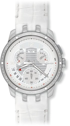 Swatch Irony Retrograde Cold Hour White Chrono Men s watch YRS426