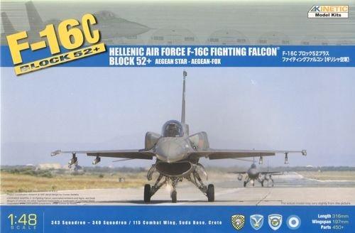 Lockheed Martin F-16C Block 52 Hellenic Air Force KIN48028 Kinetic 1:48 Greek